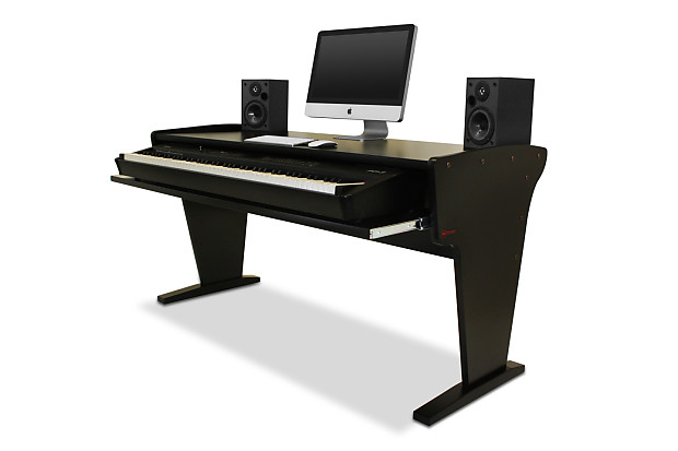 Exceptionnel AZ Studio Workstations Spike 88 Music Production Desk