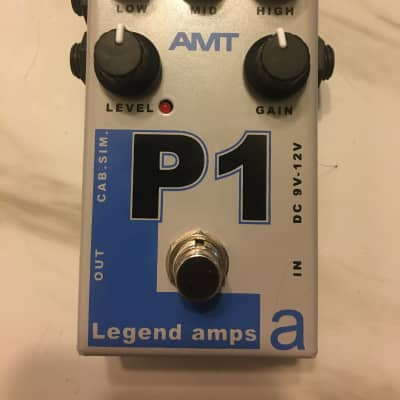 AMT Electronics P1  Grey and blue