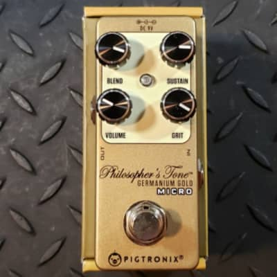 Pigtronix Philosopher's Tone Germanium Gold Micro Compressor GE Mini FREE SHIPPING