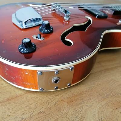 1964 Rare Hoyer Bass Made in Germany Vintage @ hofner Framus vox meazzi sabre Crucianelli Fbt Fender for sale