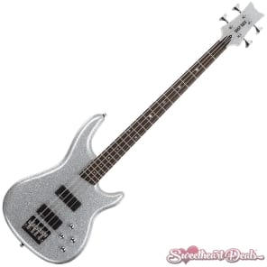 Daisy Rock - Rock Candy Bass Guitar - Diamond Sparkle for sale