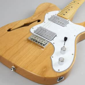 Store Demo | Squier Vintage Modified '72 Telecaster Thinline - Natural