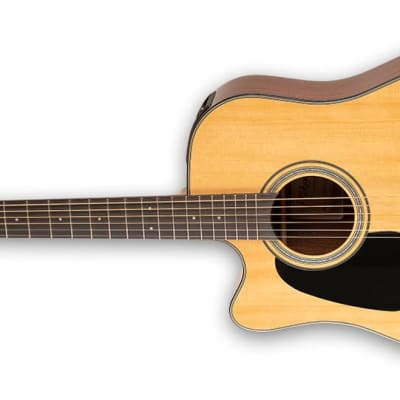 Takamine GD30CE LH NAT G30 Series Dreadnought Cutaway Acoustic/Electric Guitar (Left-Handed) Natural Gloss