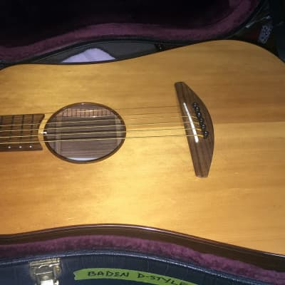 Baden D Style Solid Rosewood/ Solid Spruce 2007 Nat for sale
