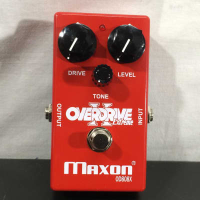 Maxon OD808X Overdrive Extreme Guitar Effect Pedal - Customer Return
