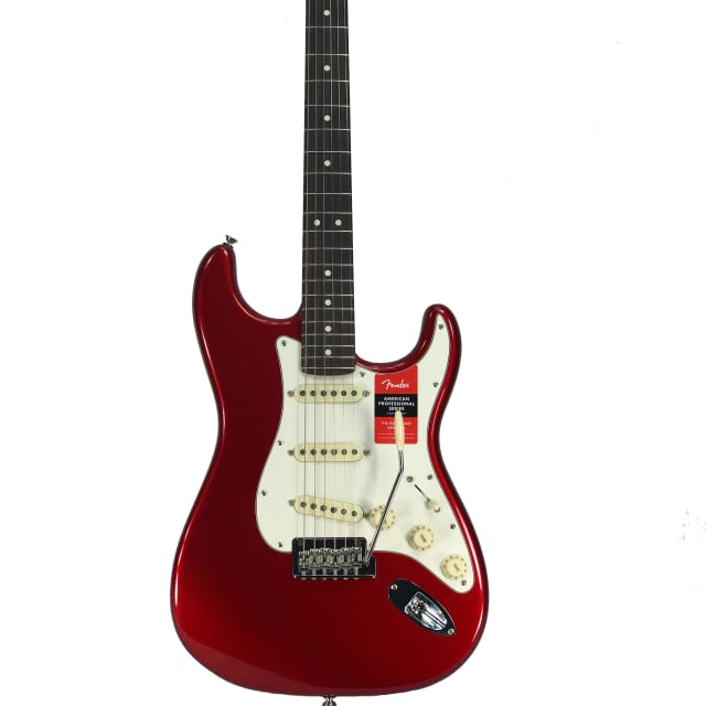 Fender American Pro Stratocaster Candy Apple Red image
