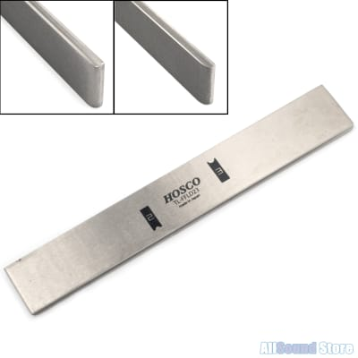 Hosco Japanese Diamond Fret Leveling & Crowning File - 3 in 1 Luthier Tool Level for sale