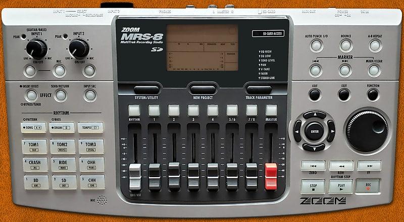 ZOOM MRS-8 RECORDER WINDOWS 8 DRIVER
