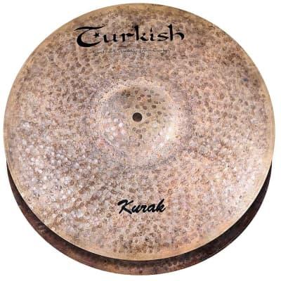 "Turkish Cymbals 14"" Kurak Hi-Hat"