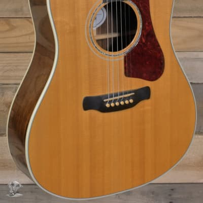 Gibson Hummingbird Rosewood AG Acoustic/Electric Guitar Antique Natural w/ Case