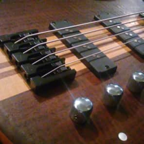 Carvin IC4W /w case 2012 Figured Walnut/Tung Oil Upgraded Nordstrand Big Splits Passive Pickups for sale