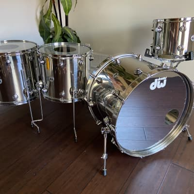 Dw Collectors Stainless Steel Drum Kit