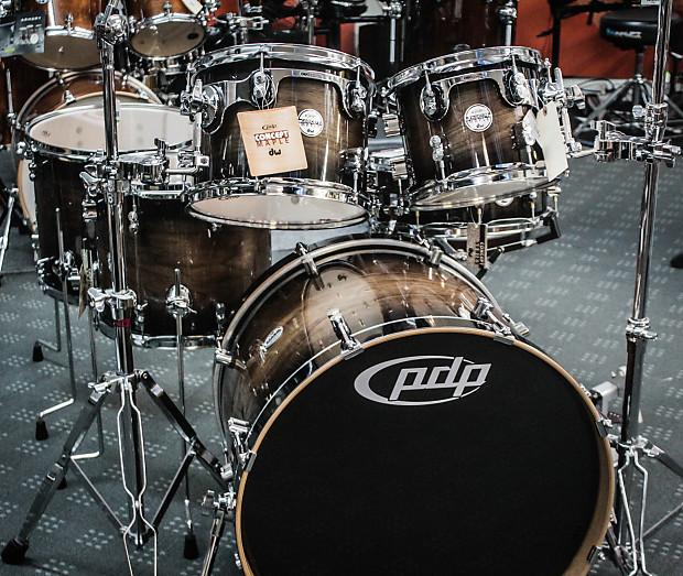 PDP Concept Series Maple Exotic Walnut 6 Piece Drum Set