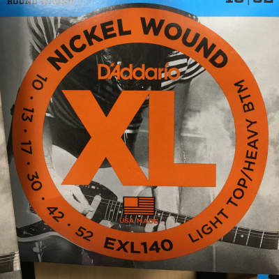 D'Addario EXL140 Nickel Wound Electric Guitar Strings, Light Top / Heavy Bottom Gauge
