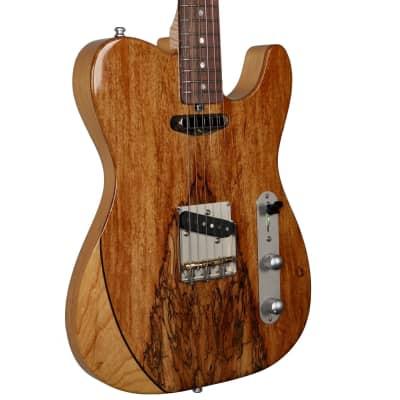 Larrivee Baker-T Spalted Maple / Swamp Ash Natural Finish #135003 for sale