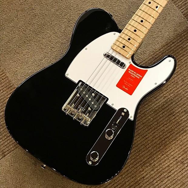 Fender Japan Made in Japan Traditional 70s Telecaster Black S N JD18001517  3 55kg