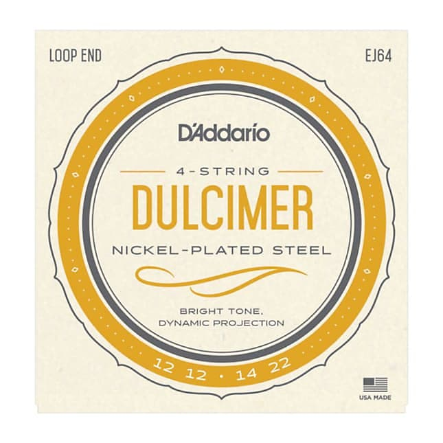 D'Addario EJ64 4-String Mountain Dulcimer Strings