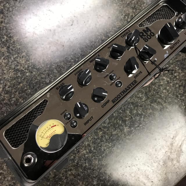 MAKE OFFER! Floor Model! Ashdown RM800 Bass Head image