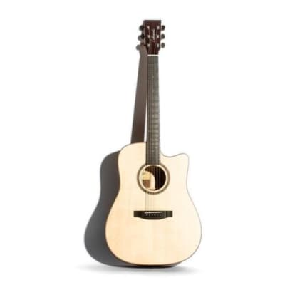 Lakewood D18CP Dreadnought Cutaway Natural Finish Acoustic Guitar for sale