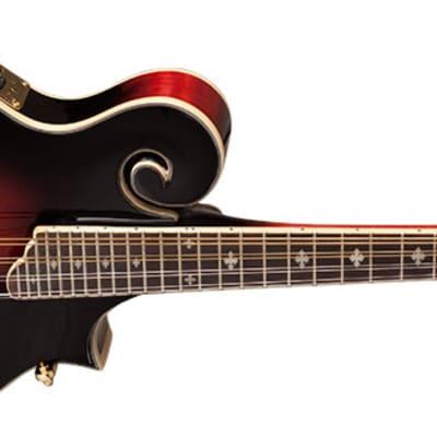 Washburn M3SWETWRK-D Americana M3SWE Acoustic/Electric Mandolin (Red) for sale