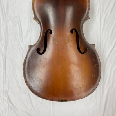 Kay M1 Upright 3/4 String Bass for Restoration or Parts circa 1959 for sale