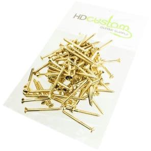 HDCustom HDSP025G-100 Phillips Head Neck Mounting Screws (100-Pack)