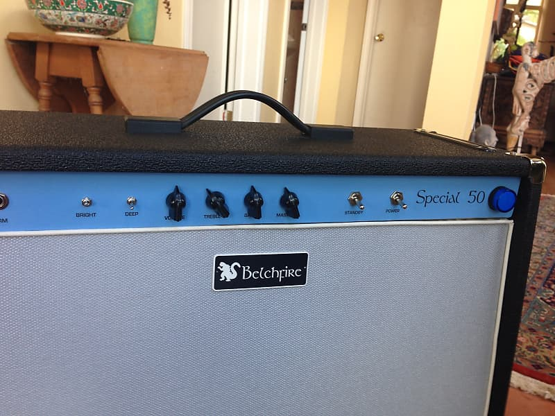Belchfire Special 50 hand wired Dumble inspired all tube | Reverb