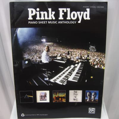 Pink Floyd Piano Sheet Music Anthology Vocal Guitar Sheet Music Song Book Songbook