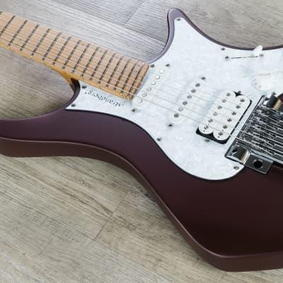 Strandberg Guitars Boden Classic 6 Trem Electric Guitar, Burgandy Mist