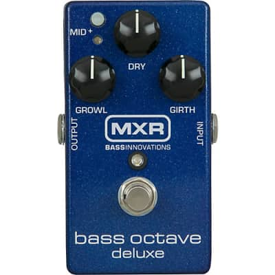 MXR Bass Octave Deluxe Effect Pedal for sale