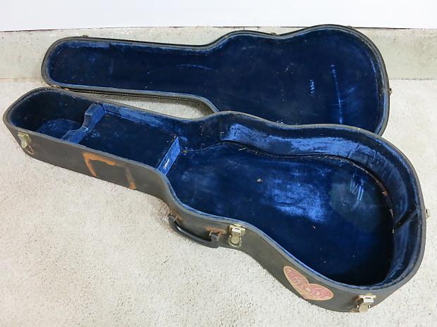 vintage 1960s martin gibson guild acoustic guitar case blue reverb. Black Bedroom Furniture Sets. Home Design Ideas