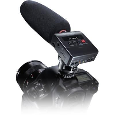 Tascam DR-10SG Camera-Mountable DSLR Audio Recorder with Shotgun Microphone