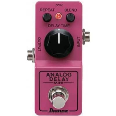 Ibanez ADMINI Analog Delay Mini True Bypass Switching Guitar Effects Pedal