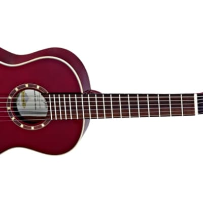Ortega Family Series Gloss 1/4 Size Red Acoustic Guitar Spruce for sale