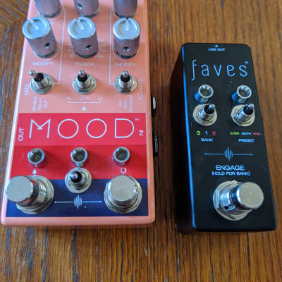 Chase Bliss Audio MOOD with Faves Pedal