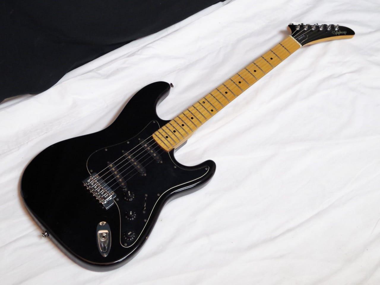 epiphone gibson black electric guitar made in korea used reverb. Black Bedroom Furniture Sets. Home Design Ideas