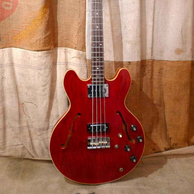 Gibson EB-2D 1968 Cherry Red image