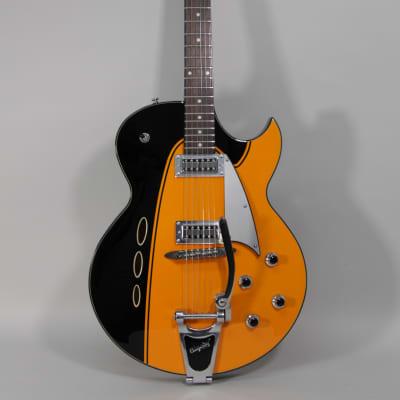 Backlund Rockerbox II DLX Orange Finish Semi-Hollow Electric Guitar for sale