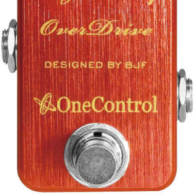 One-Control Lingonberry Overdrive Pedal for sale