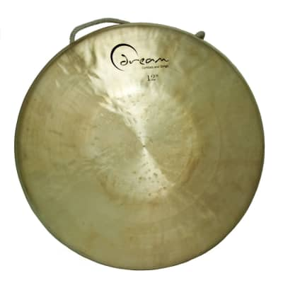 """Dream Cymbals 12"""" Tiger Bend Down Gong"""