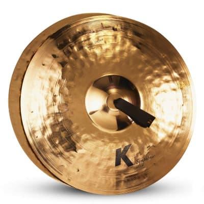 "Zildjian 20"" K Symphonic Brilliant Series Light Concert Cymbals (Pair)"