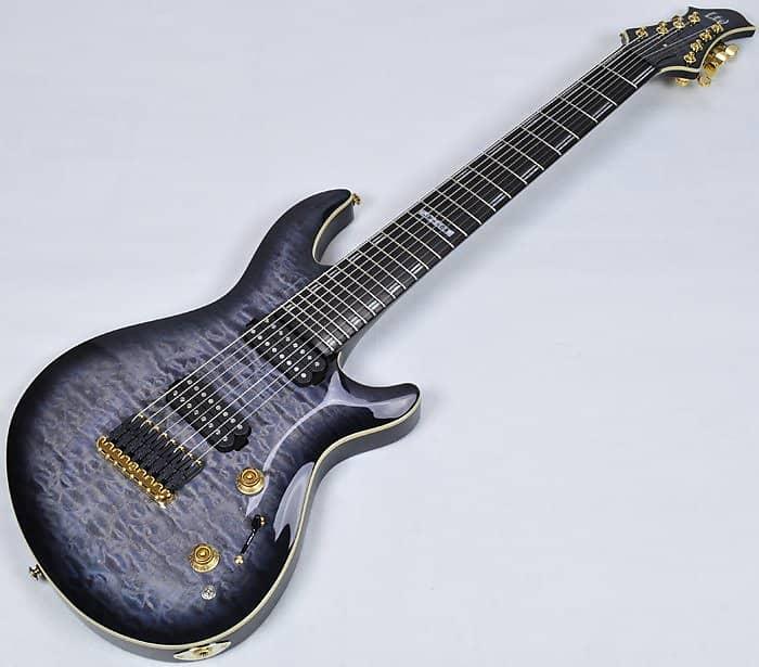esp jr 608 qm 2015 javier reyes signature electric guitar in reverb. Black Bedroom Furniture Sets. Home Design Ideas