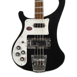 Rickenbacker 4003 Left Handed Bass Guitar Jetglo With OHSC