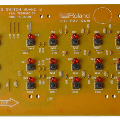 Roland JV-80 Switch Board B