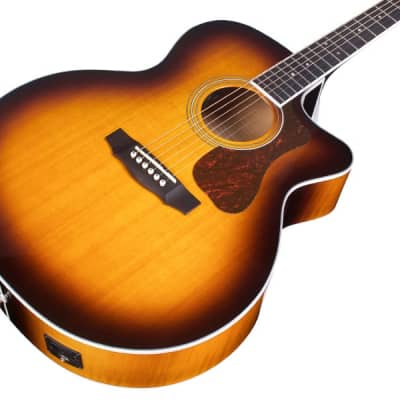 Guild Westerly Series F-250CE Deluxe Electro-Acoustic, Antique Burst for sale