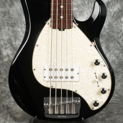 Music Man Stingray 5 String Bass  2000 Black for sale