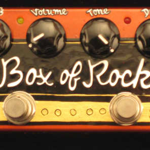 Z.Vex Effects Box Of Rock Pedal Hand-Painted Factory Scratch & Dent