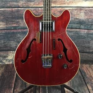 Guild Starfire Bass Cherry Red 1966