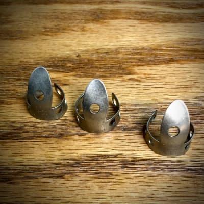 NOS! Vintage National Finger Picks--made in USA