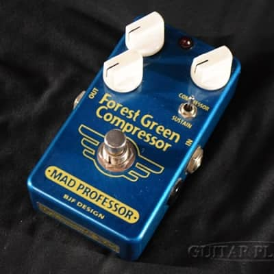 MAD PROFESSOR Forest Green Compressor HW Hand Wired for sale